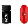 Гель краска Kodi Professional №14