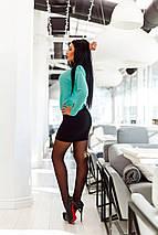 """Трикотажный женский костюм-двойка """"Indila"""" с джемпером (3 цвета), фото 2"""