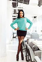 """Трикотажный женский костюм-двойка """"Indila"""" с джемпером (3 цвета), фото 3"""