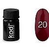 Гель краска Kodi Professional №20