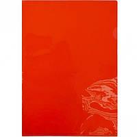 Папка - уголок А4 E-310 красная (арт.E-310)