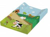 """Детский матрас для пеленания """"Funny Farm"""", зеленый (8726.274)"""