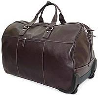Кожаная дорожная сумка на колесах Katana 69259