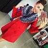 Пальто модель Лора