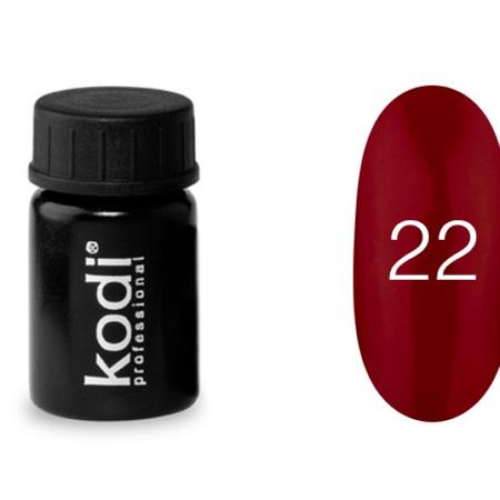 Гель краска Kodi Professional №22