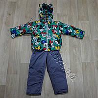 Теплый осенний костюм на девочку Минни (9 мес-2,5 лет)