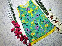 Летнее платье для девочки 1-10лет