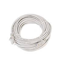 LAN кабель 10 м: витая пара, 2 RJ-45 коннектора
