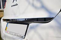 Накладка на кромку багажника Citroen C4 2010