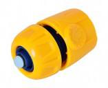 Коннектор пластиковый 3/4 с аквастопом VERANO