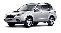 Задняя защита для Subaru Forester (2008-2012)