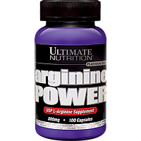 Ultimate Nutrition Arginine Power 800 mg 100 капс.