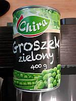 Консервированный горошек Groszek zielony 400 г. Польша