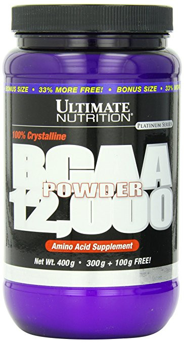 Ultimate Nutrition BCAA Powder 12000, 400 г