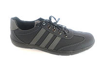 Туфли спортивный на шнурках мужские синий  Perfect- K-7