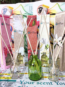 Приятный аромат поможет расположить к себе людей, привлечь больше посетителей и покупателей.  Принцип действия прост - бамбуковые палочки пропитываются фрагрансом и распыляют аромат. Абсолютно безопасны!