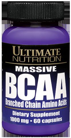 Ultimate Nutrition Massive BCAA 1000 mg 60 капс.