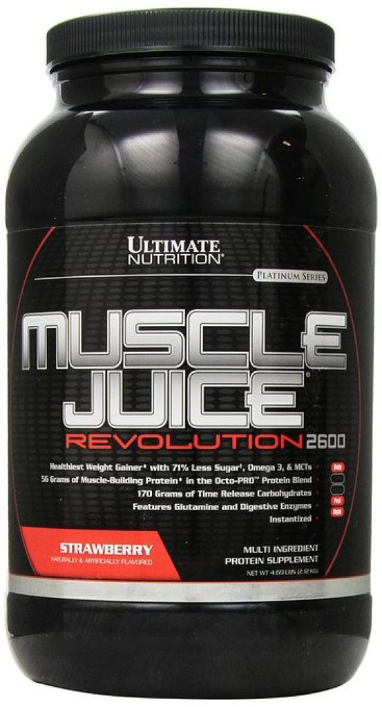 Ultimate Nutrition MUSCLE JUICE 2600 Revolution 2,12 кг