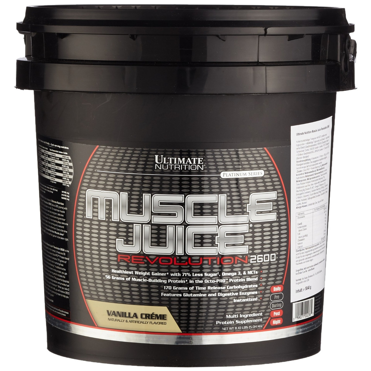 Ultimate Nutrition MUSCLE JUICE 2600 Revolution 5,04 кг
