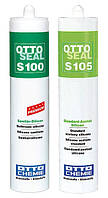 Силиконовые однокомпонентные герметики с уксусной полимеризацией OTTOSEAL S100 и S105