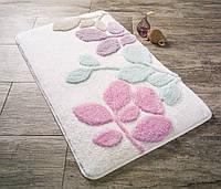 Изысканный коврик для ванной 50х60 см Конфетти Babilon Bebe Pembe CB37