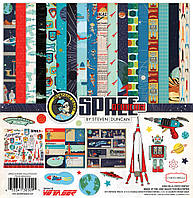 """Набор бумаги 30*30 см Carta Bella """"Space Academyl"""", CBSA61016"""