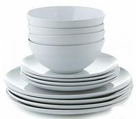 Посуда столовая набор на 4 персоны (12 предметов), фото 1