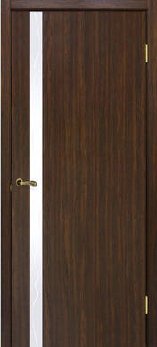 Двери Рубин с зеркалом ОМиС шпон натуральный