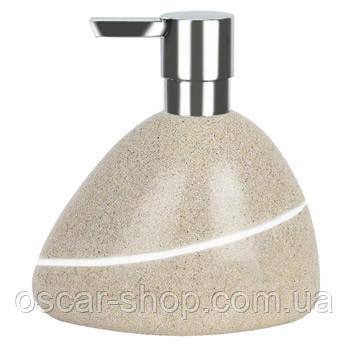 Дозатор для жидкого мыла Spirella ETNA SAND