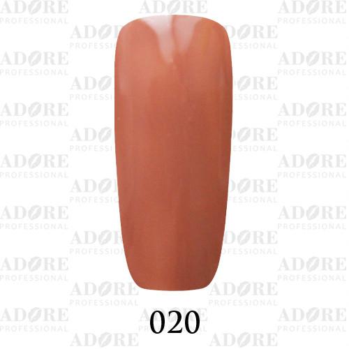 Гель лак Adore №020, какао 9 мл