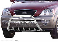 Защитный обвес передний для Kia Sorento 2002-2009