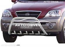 Защитный обвес передний для Kia Sorento 2003-2009