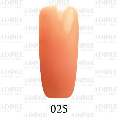 Гель лак Adore №025, персиковый беж 9 мл