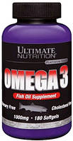 Ultimate Nutrition Omega 3, 180 softgels