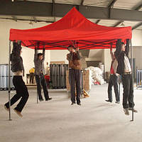 Торговые шатры, палатки, тенты 3х4,5 Красный