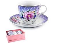 Чайний набір 4 предмета 220гр декор 3505