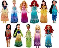 Кукла принцесса (Белоснежка, Аврора, Бель, Тиана)