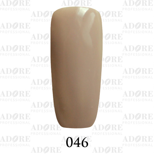 Гель лак Adore №046, французский серый 9 мл