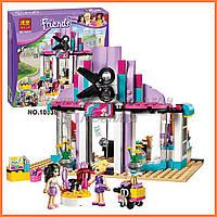 """Конструктор Bela Friends 10539 """"Парикмахерская в Хартлейке"""" (аналог LEGO Friends 41093), 341 дет."""