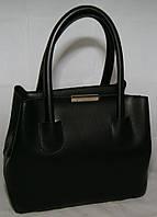 Чёрная женская мини сумка-шопер B.Elit, фото 1