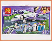 "Конструктор Lele 79175 Friends ""Аэропорт Хартлейк Сити"" (аналог Lego 41109) 701 дет."
