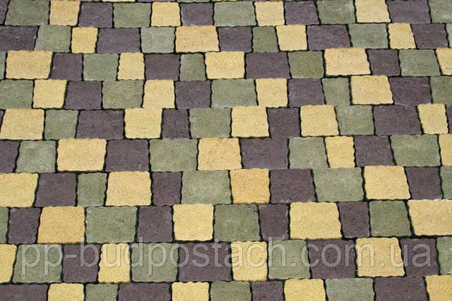 Тротуарна плитка Креатив Золотий мандарин