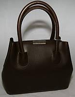 Коричневая женская мини сумка-шопер B.Elit, фото 1