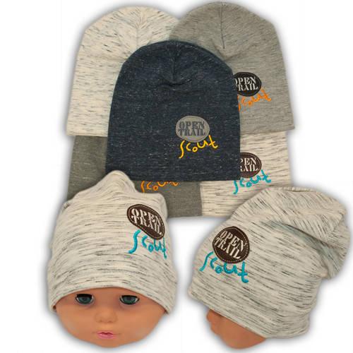 Трикотажные шапки с вышивкой, 687