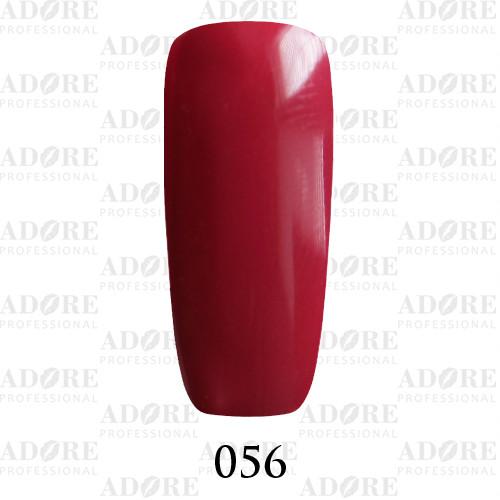 Гель лак Adore №056, брусничный 9 мл