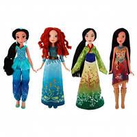 Кукла принцесса (Мулан, Жасмин,Мерида, Покахонтас)