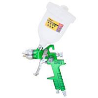 Краскораспылитель HVLP  1.4мм с в/б  (зеленый) SIGMA 6812021