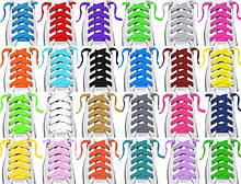 Плоский цветной шнур