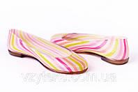 Балетки резиновые женские цветные Литма