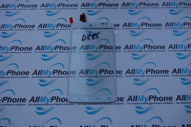 Сенсорный экран для LG D686 G Pro Lite Dual white